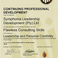 The SABPP-accredited Flawless Consulting (Contracting) workshop earn practitioners 4 CPD points